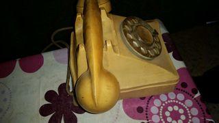 Telefono vaquelita blanco