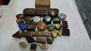 Cajas en miniaturas