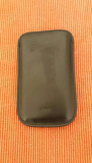 Funda de piel HTC one