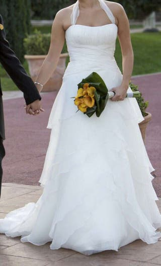 vestido de novia de segunda mano en sant feliu de llobregat en wallapop