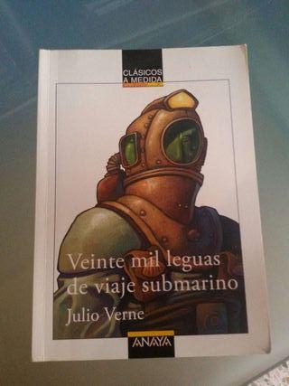 Libro Veinte mil leguas de viaje submarino