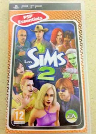 Juego PSP Los Sims 2 En Perfecto estado