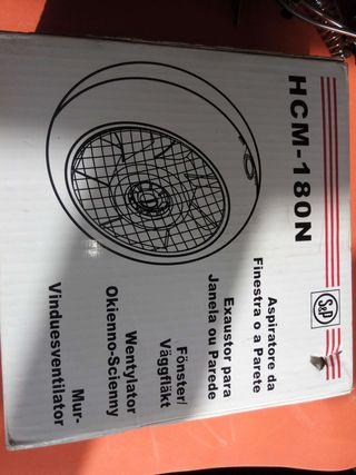 Extractor helicoidal redondo S&P HCM-180N