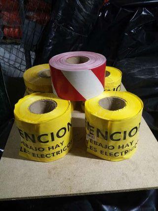 Rollos de cinta balizamiento nuevos