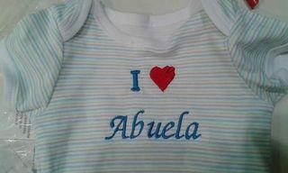 Body I Love Abuela