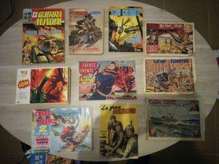 Comics VARIADOS TEMATICA BELICA originales