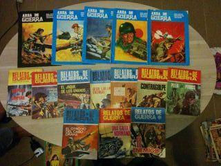 Comics RELATOS DE GUERRA Y AREA DE GUERRA originales