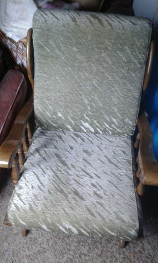 Dos mecedoras y sof 2 plazas de segunda mano por 75 en b jar en wallapop - Sofa mecedora ...