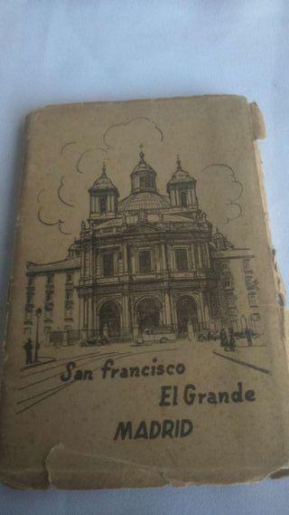 Postales antiguas de la iglesia de San Francisco EL GRANDE (MADRID)