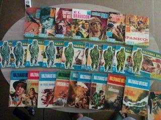Comics HAZAÑAS BELICAS originales, editorial TORAY