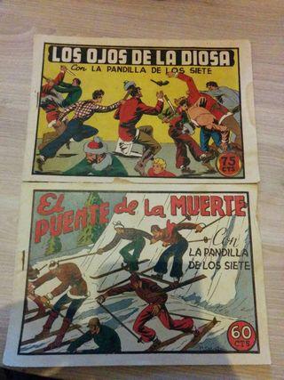 Comics LA PANDILLA DE LOS SIETE