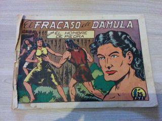 Comic EL HOMBRE DE PIEDRA original