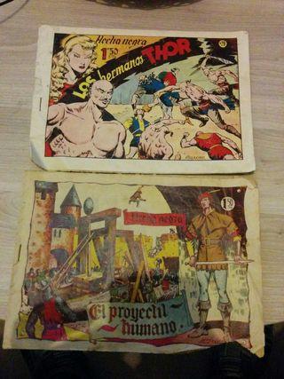 Comics FLECHA NEGRA originales