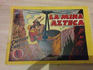 Comic EL CAPITAN ENIGMA original