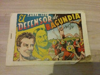 Comic ZARPA DE LEON original