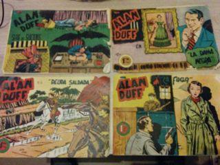 Comics ALAN DUFF originales