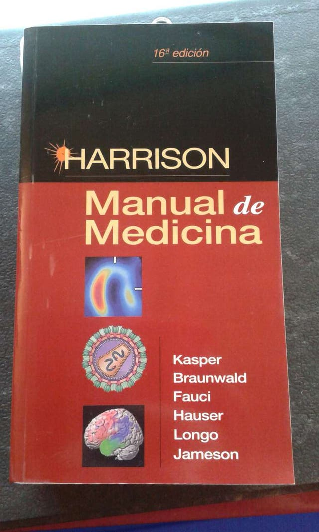Manual de medicina Harrison 16 Edicion