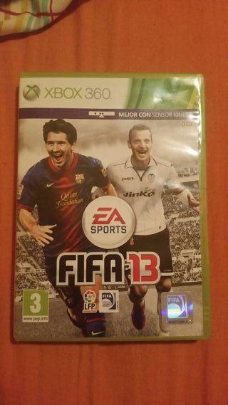 Juego FIFA 13 para xbox 360