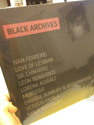 Vinilo Black Archives (Iván Ferreiro, Bunbury...