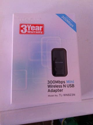 Adaptador Wireless Usb TP-LINK