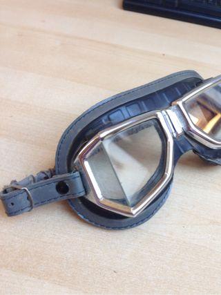 Gafas De Motorista Vintage Años 70