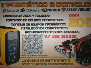 Servicio tecnico informatico.