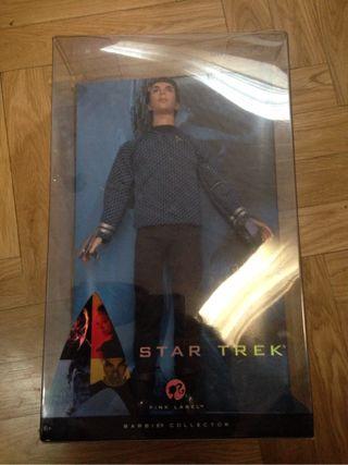 Mr Spock Barbie Star Trek