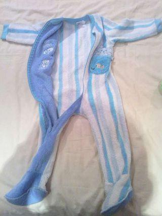 pijamas polares talla 2