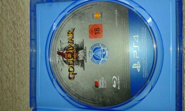 God of war 3 rematerizado PS4