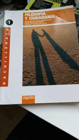 Libro 1° bachillerato filosofía y ciudadanía algaida