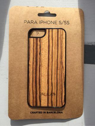 Funda Madera Palila Iphone 5 Y 5s