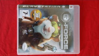 Juego Playstation 3 G-Force, licencia para espiar