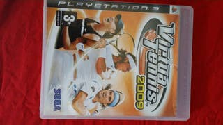 Juego Playstation 3, Virtual Tennis 2009