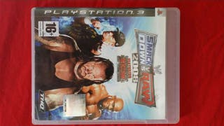 Juego Playstation 3, Smack Down vs Raw