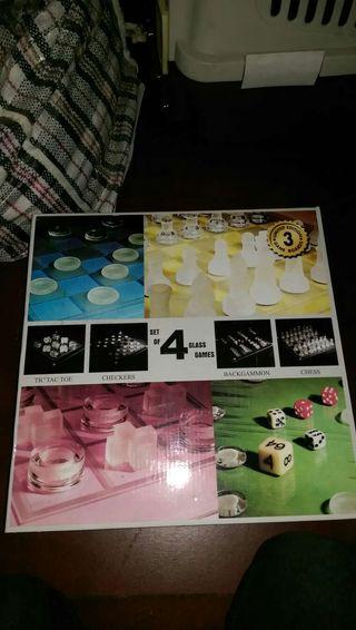 Juegos de mesa de cristal templado