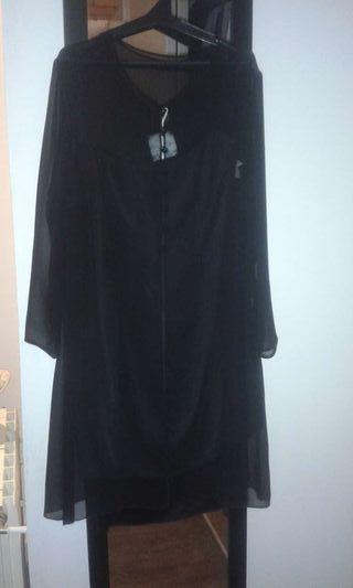 Vestido negro d ceremonia