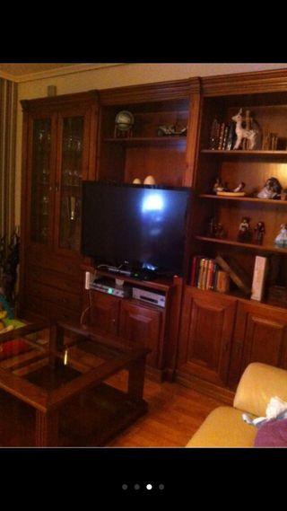 Conjunto de muebles para salon con buaseri de segunda mano por en herencia en wallapop - Conjunto muebles salon ...
