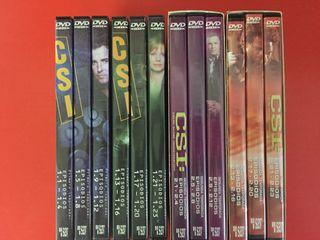 Dvds CSI 1 y 2 Temporada Completas