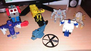 Transformers figuras burguer king.