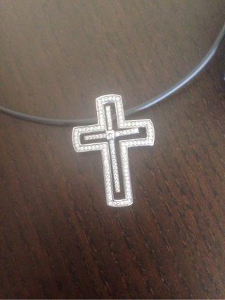 colgante cruz - regalo comunión