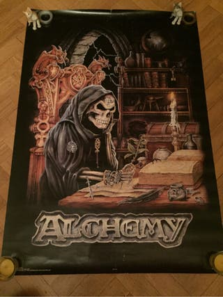Poster Alchemy Años 80/90