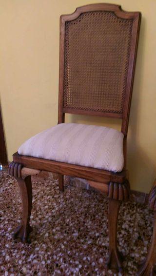 Restauramos sillas de todos los estilos de segunda mano en for Wallapop barcelona muebles