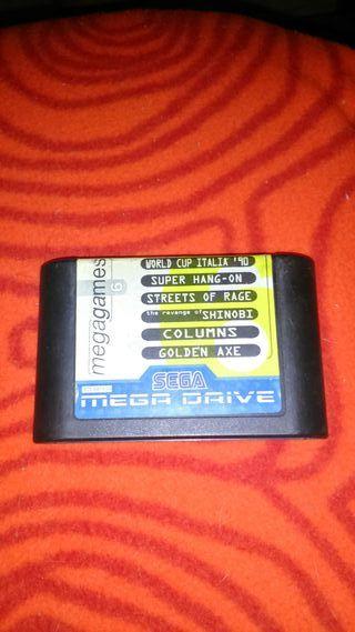 Juegos de la consola mega drive