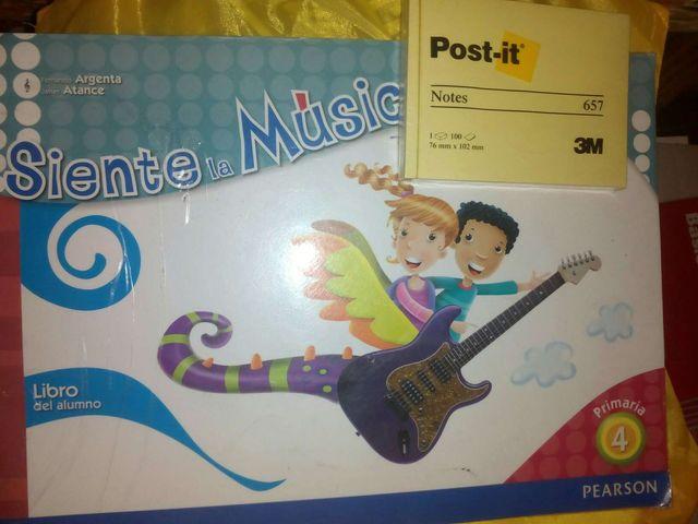libro Música 4