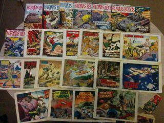 Comics HAZAÑAS BELICAS segunda epoca, originales
