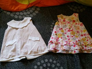 Pack 2 vestidos 6 meses