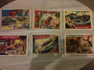 Comics HAZAÑAS BELICAS primera epoca, originales