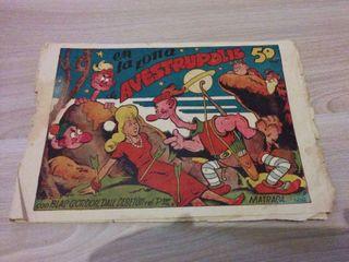 Comic BLAS GORDON, DALE DE BETUN Y EL PROFESOR MATRACA original