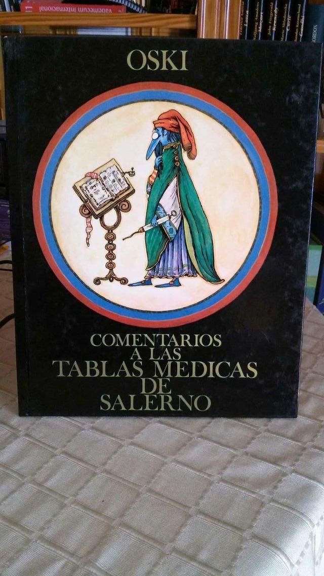 Libro comentarios a las tablas de Salerno