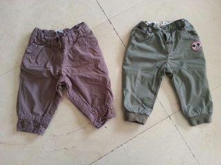Lote pantalones talla 6-9